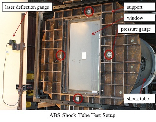 ABS Shock Tube Test Setup 2