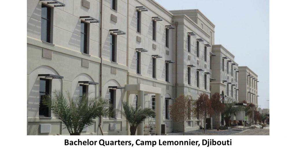 Bachelor Quarters Camp Lemonnier Djibouti