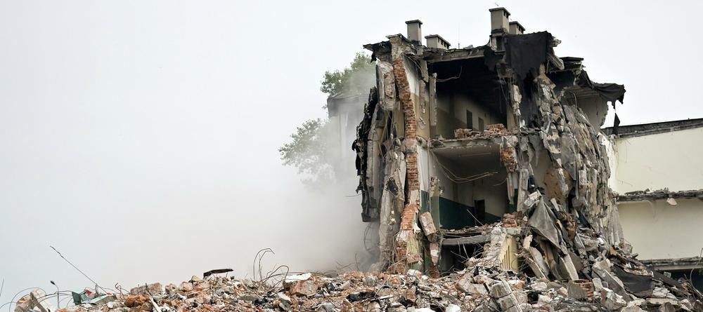 Building Explosion Header
