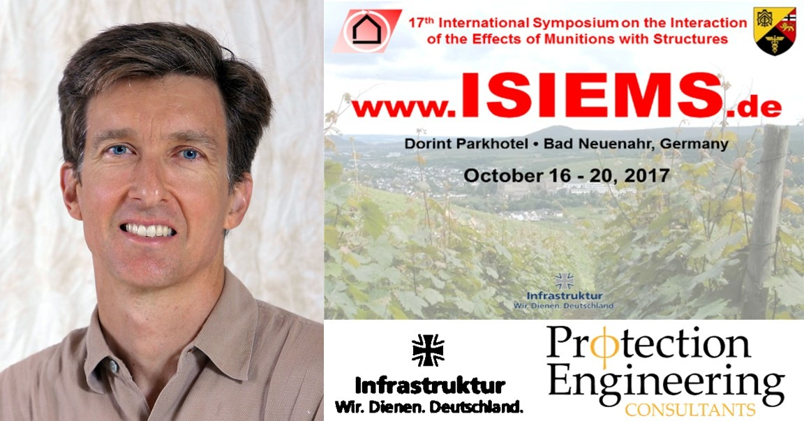 Chuck Oswald attend ISIEMS 2017 and present on effects of internal explosions.