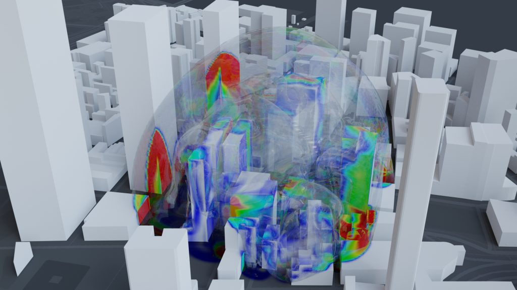 openFOAM CFD solver for cityscape blast loading
