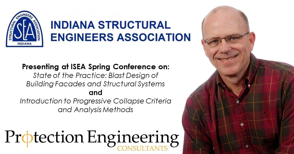 David Stevens presents at ISEA on blast and progressive collapse