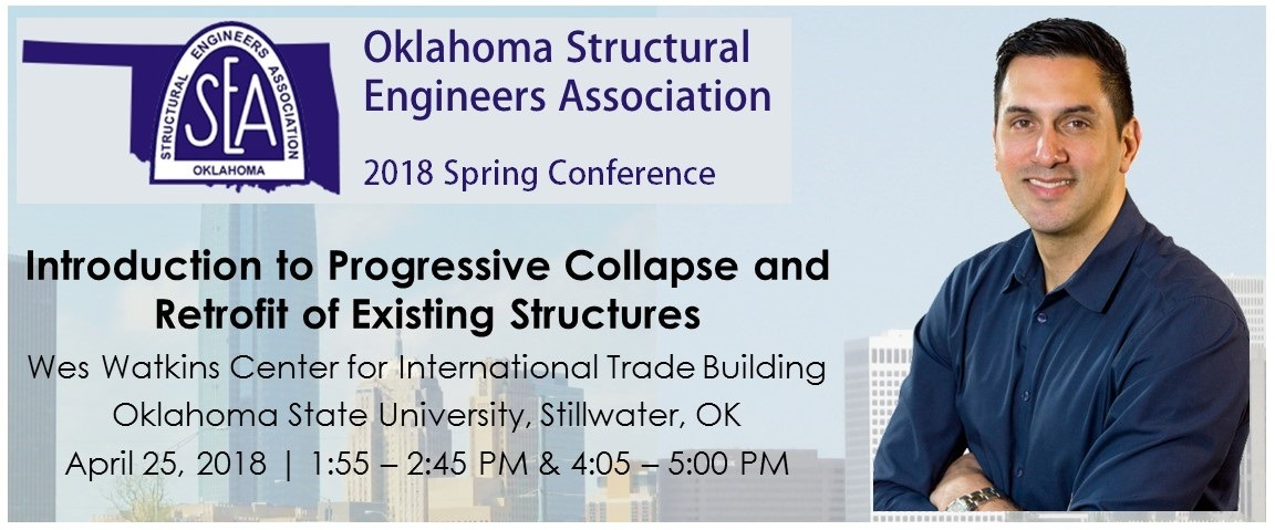 Aldo Progressive Collapse Design at the OSEA Spring Conference Cropped