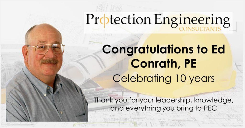 Ed Conrath 10 Years
