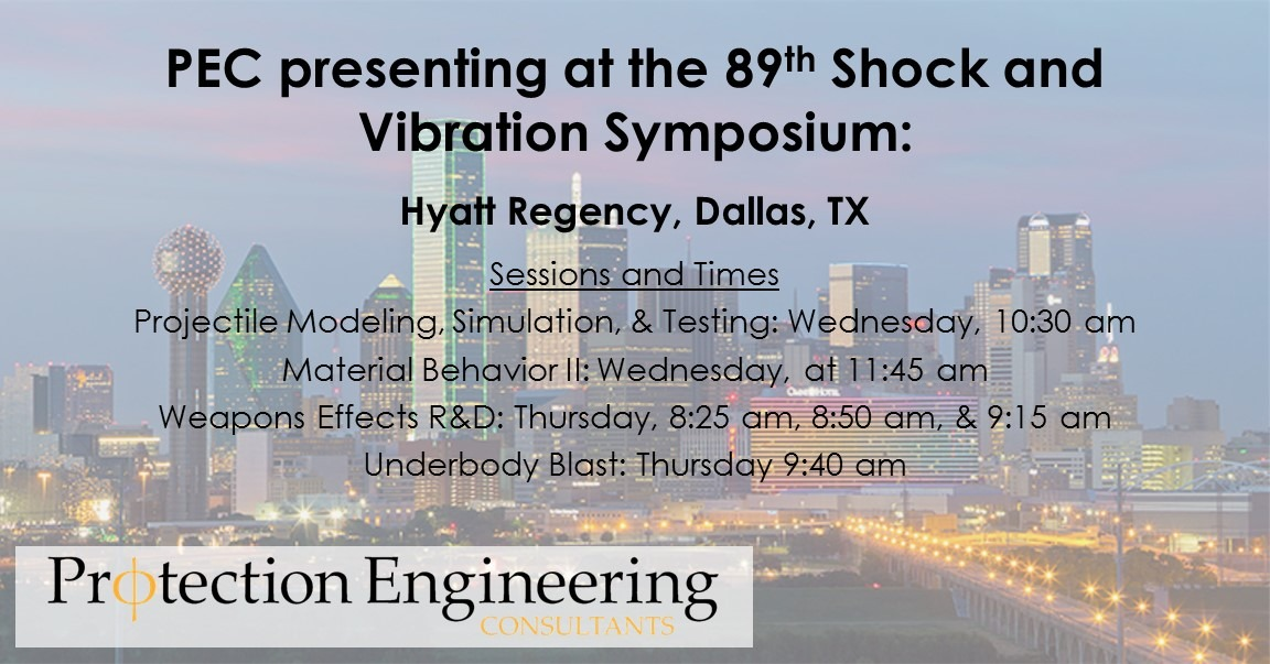 89th Shock and Vibration Symposium