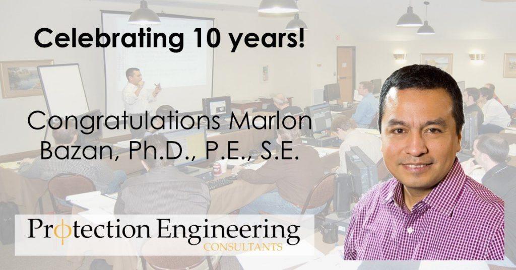 Marlon's 10 Year